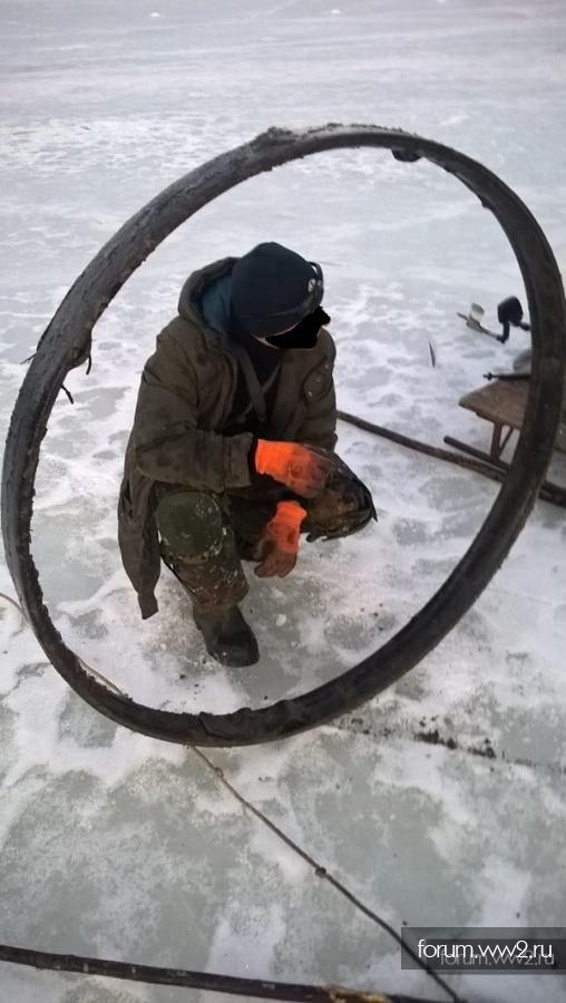 колесо и обод от пушки 105см.LeFH 18
