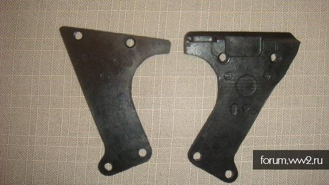 Щечки рукояти МГ-34