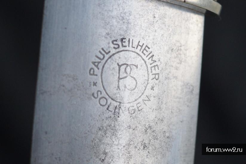 """Ранний кинжал СА """"Seilheimer Paul (PS), Schlingen-Werk, Solingen""""."""