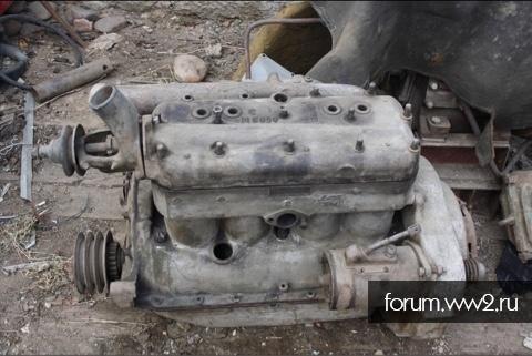 Двигатель Комсомольца т-20