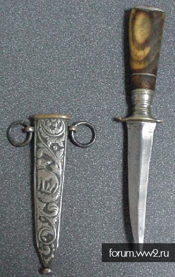 Ножик на идентификацию