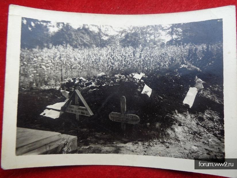 фото: могилы 1944 год из альбома