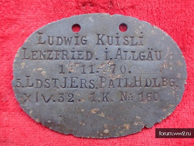 LUDWIG KUISLI 5.LDST.J.ERS.BATL.HDLBG.XIV.32.1K. - N.160