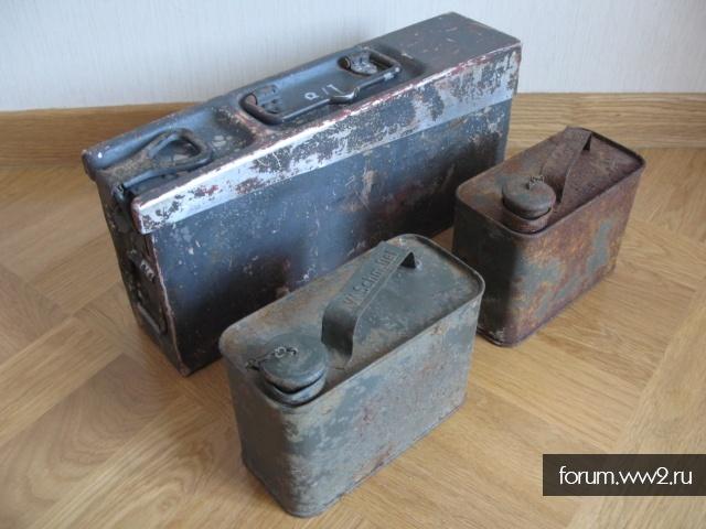 Ящик МГ с масленками