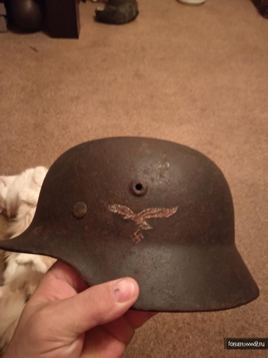 шлем лётчика.