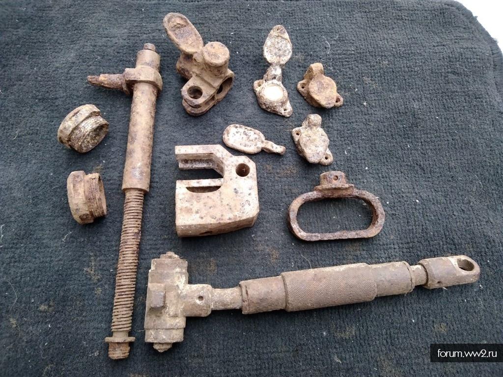 Детали 50-мм миномет leGrWr 36