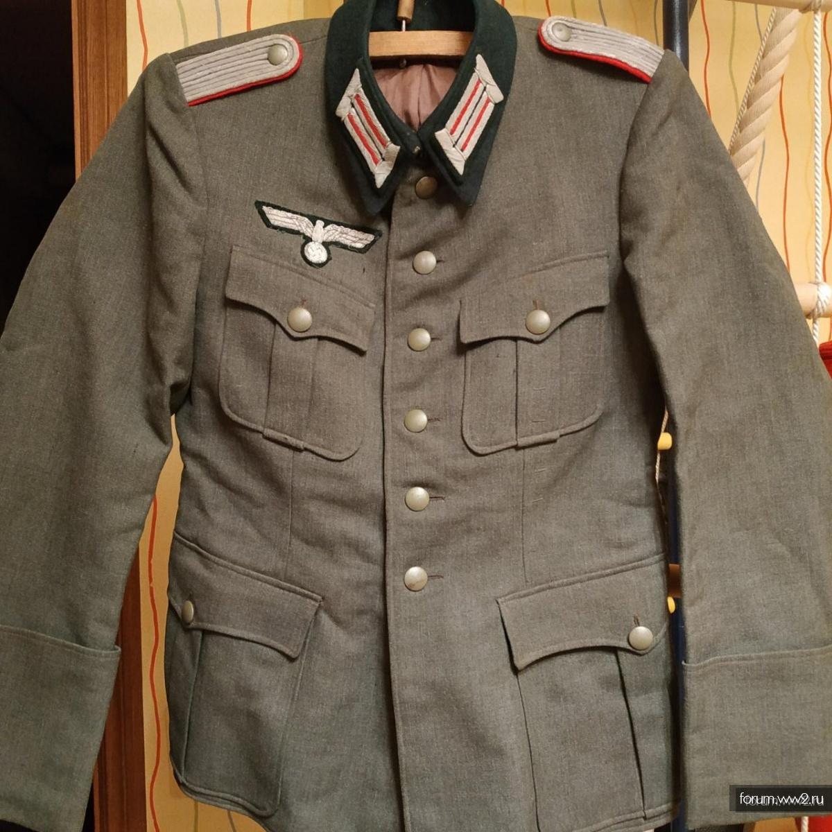 Китель офицера артиллерии WH