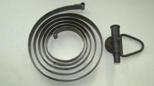 Подаватель и пружина диска пулемета ДП-27