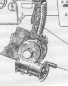 Ручка подъёма пушки т-34