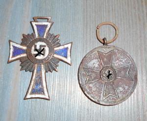 крест и медаль