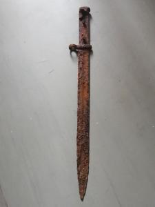 Штык нож свт38