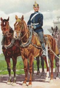 Сабля прусская обр.1852 г., кавалерия - офицерская или солдатская?