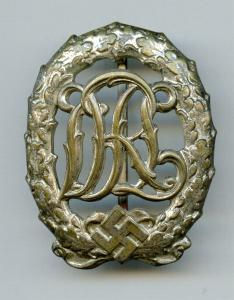 Знак DRL в серебре