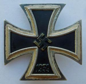 Железный крест 1 класса (100) не магнитный