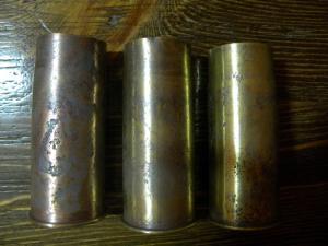 Гильзы Гочкис 37 мм с утратами