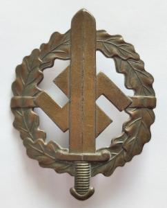 Спортивный знак СА в бронзе