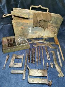 Ящик носимых с собой деталей и инструмента  пулемётчиком МG 34