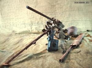 Предметы уничтоженного расчёта пулемета МГ -34 ( ммг и антураж )