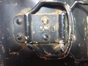 Клейма СС на алюминиевой экипировке