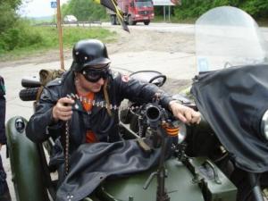 Использование мотоциклов в войсках, ВМВ.