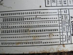 Расчетная таблица...