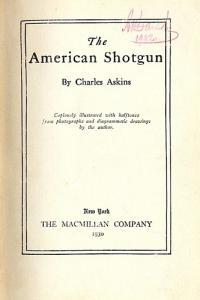 The American Shotgun