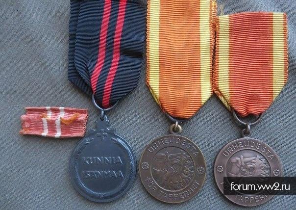 финские медали