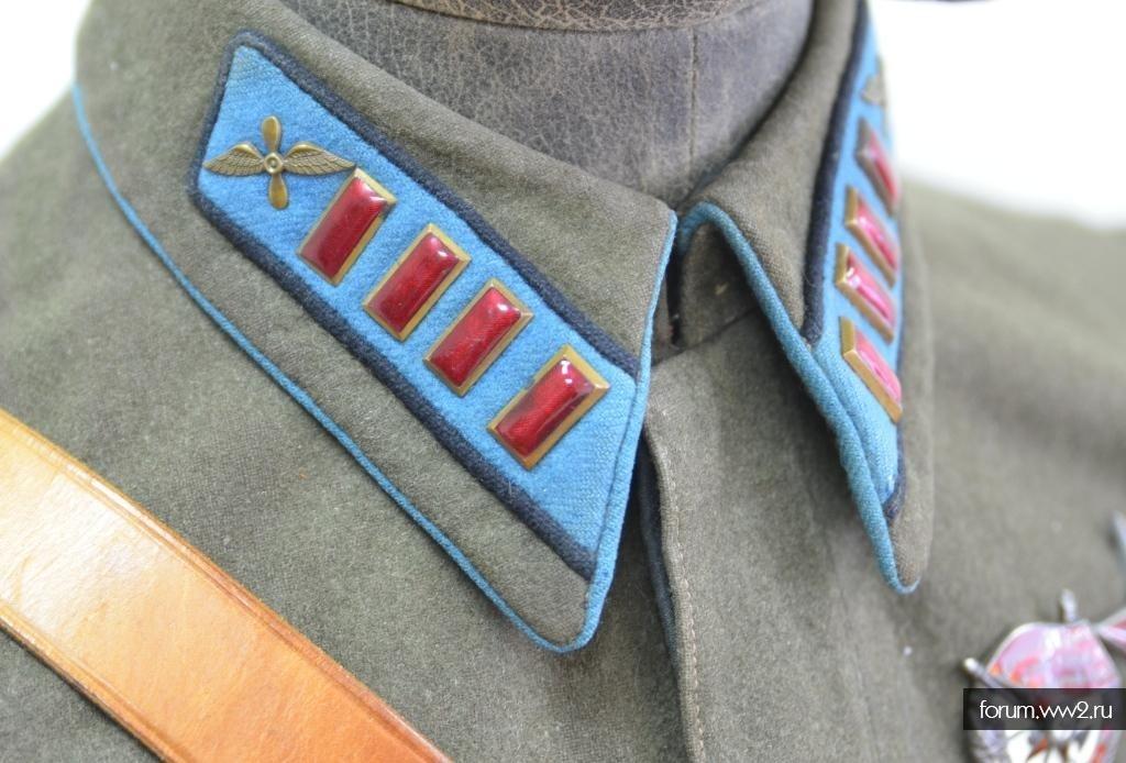 Гимнастерки и френчи образца 1935 года - летчики