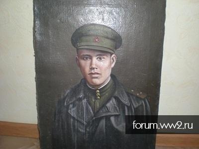 портрет лейтенант 1943год