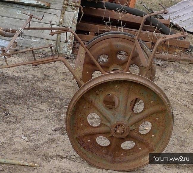 Прицеп с колёсами от Zgkw. 3t (Sd.Kfz. 11) ?