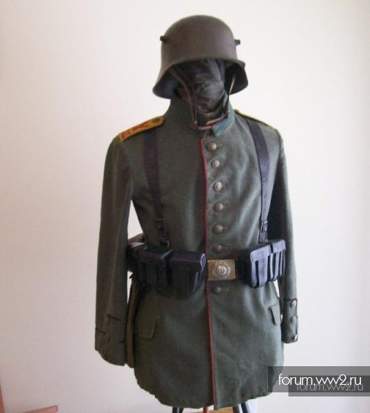 Пехотная портупея бойца Кайзеровской армии