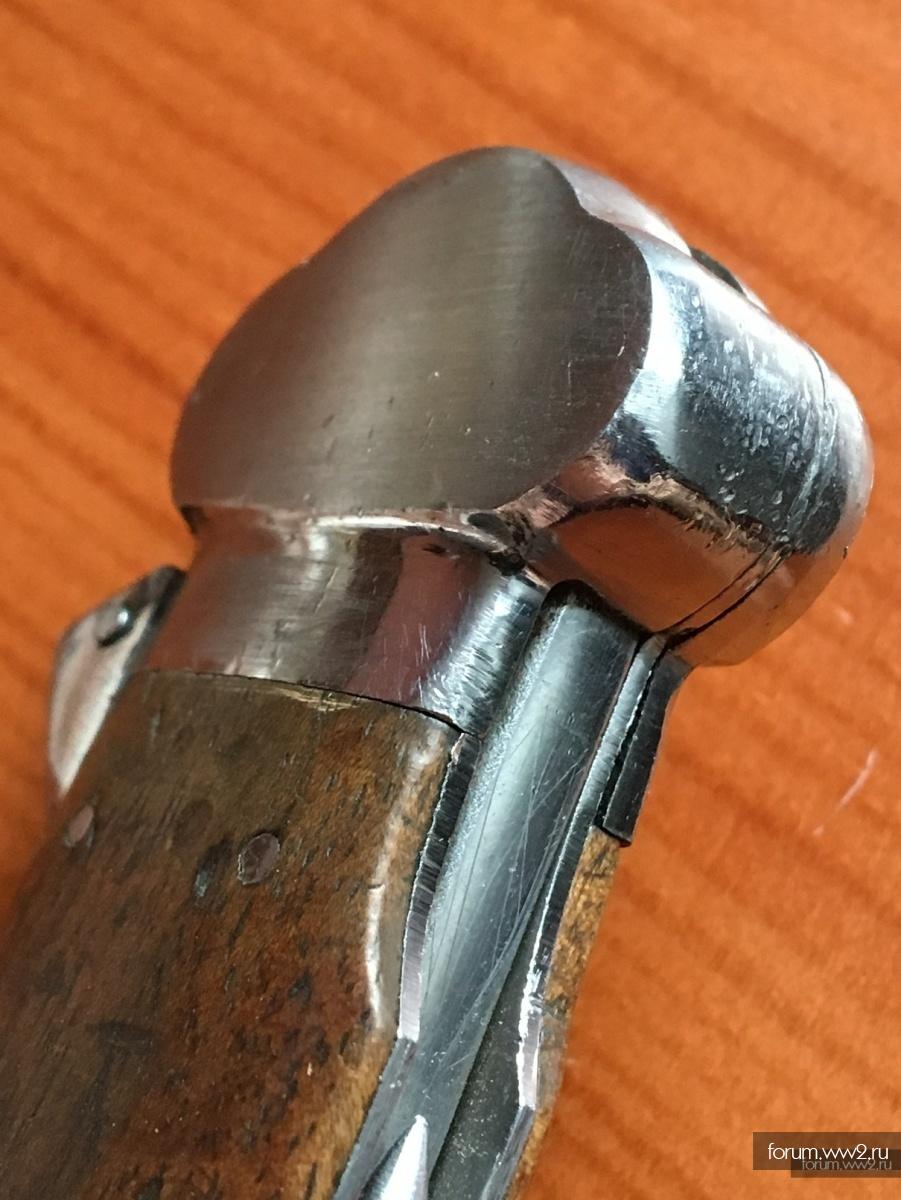 Немецкий десантный нож-стропорез Solingen тип 1