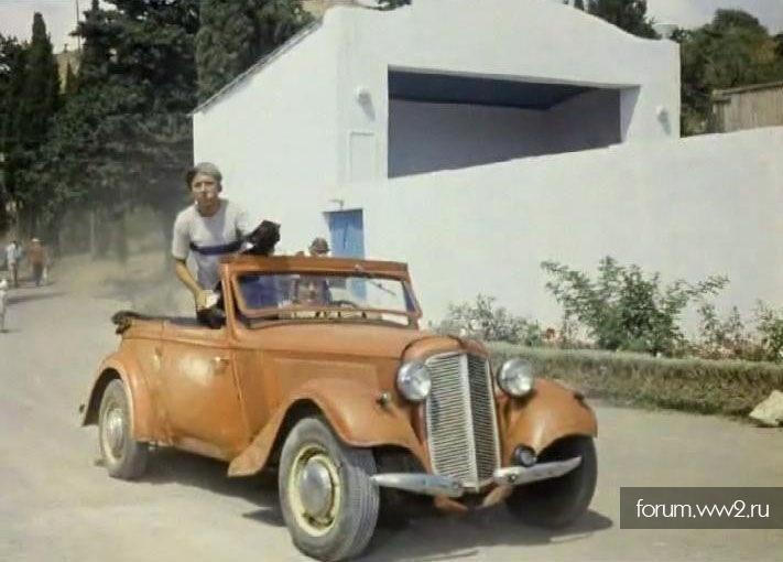 Адлер модели автомобилей