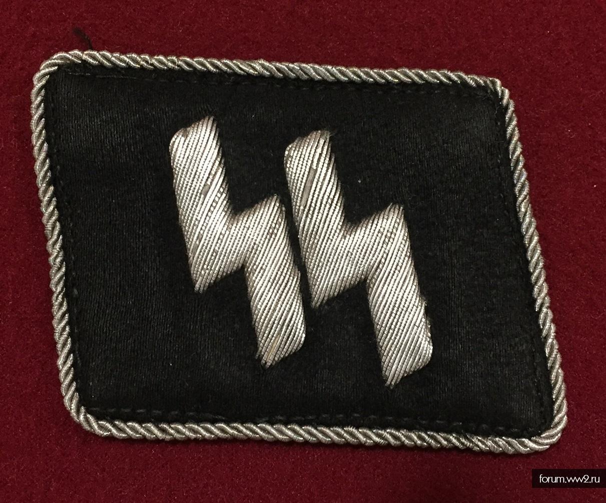 Офицерская петлица СС