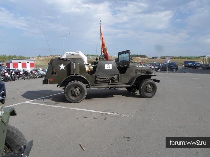 VIII Фестиваль Исторической Техники в г. Казань