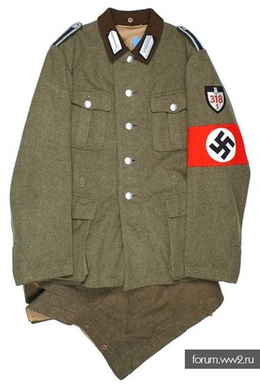 Кто на фото? Необычная униформа.