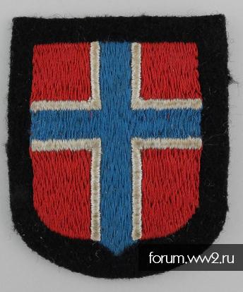 Нарукавная нашивка Norge