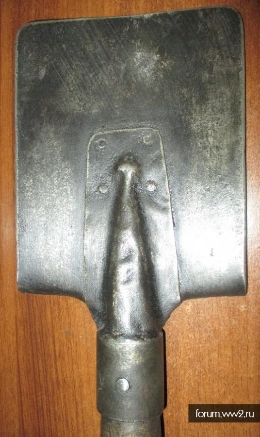 лопата-миномет как лопатка
