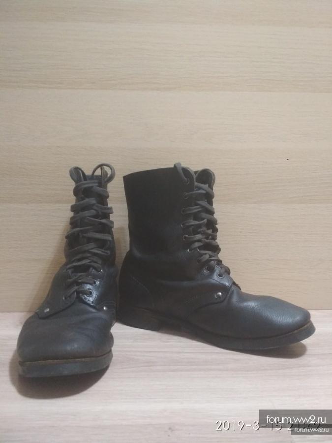 Ботинки с высоким берцем СССР.