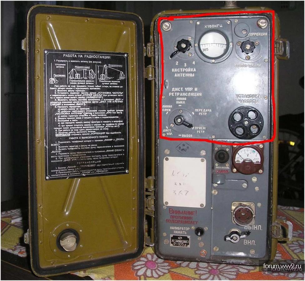 Панель от радиооборудования