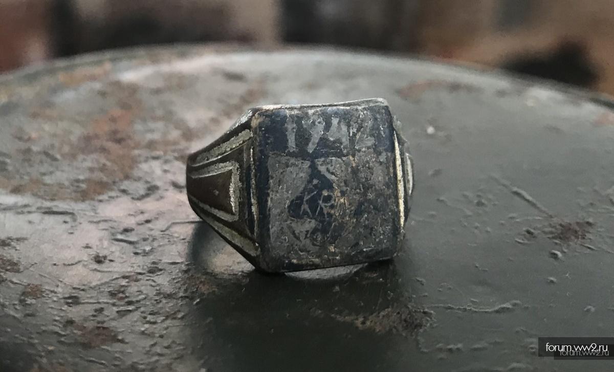 Перстень Крым 1942 в необычном исполнении