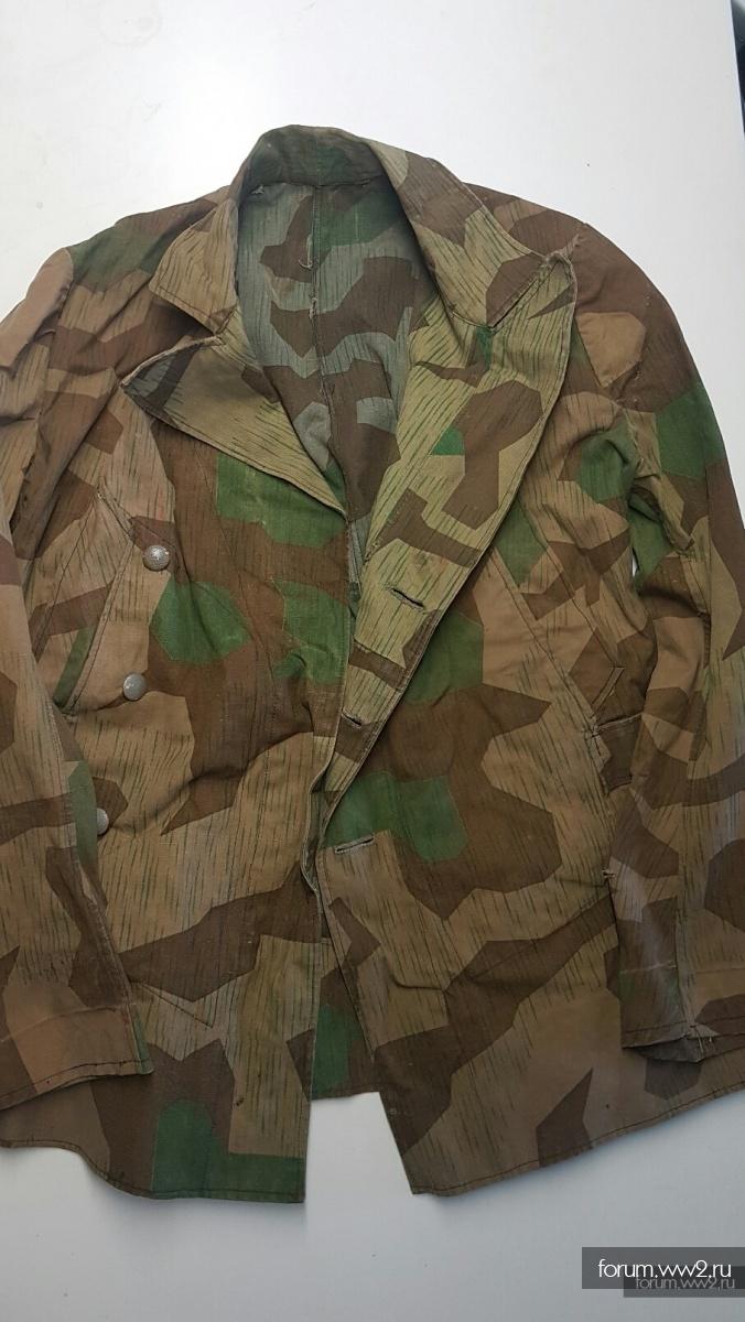 камуфляжная куртка осколок