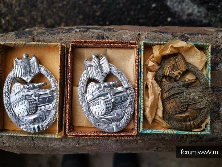 Три танковые атаки, 2 серебро, 1 бронза в бумажных коробках