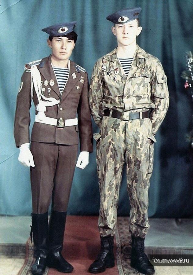 Незнакомый Камуфляж СССР 1988 г.