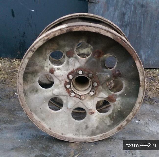 Спаренное колесо от Sd.Kfz.9 FAMO