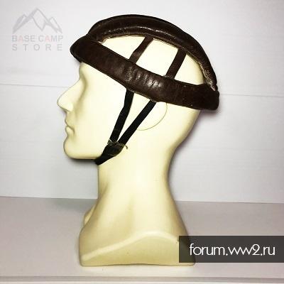 Кожаный велосипедный шлем ссср