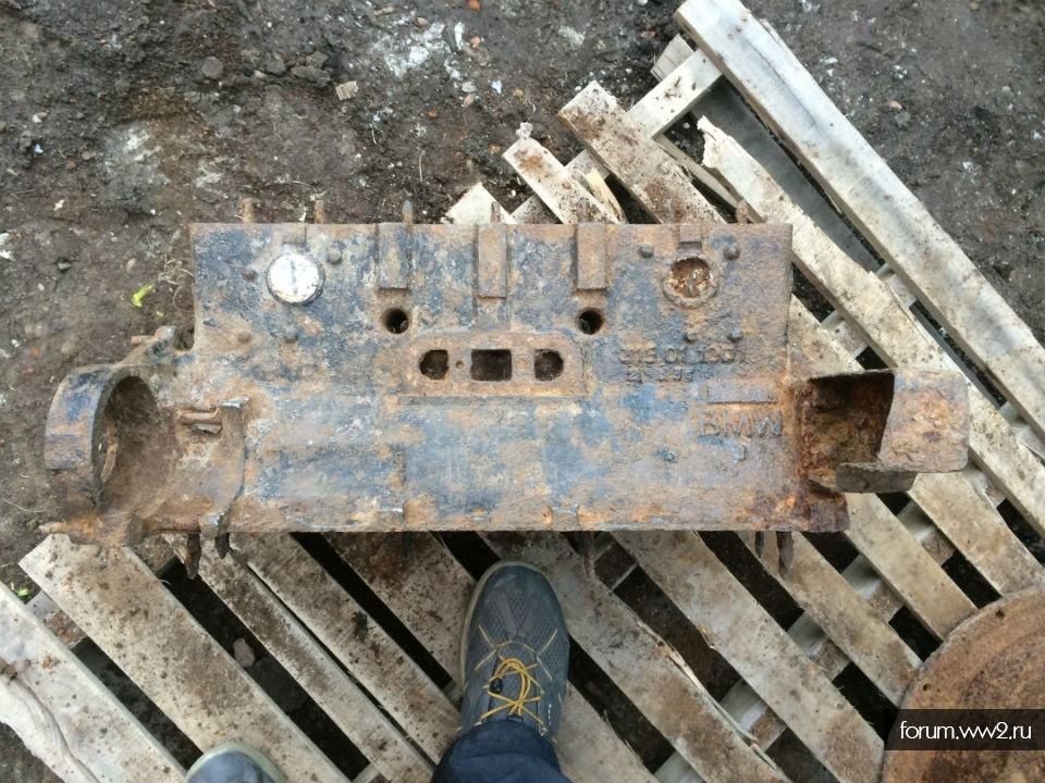 Блок двигателя БМВ.