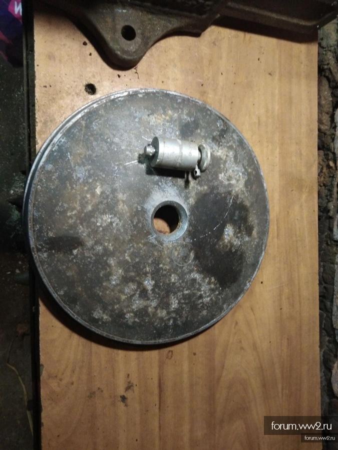 Верх мины tmi 35 ,взрыватель ЯR 492