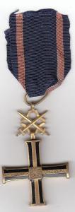 Крест Борцам за независимость с мечами Польша,