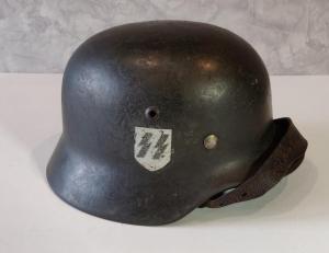Стальной шлем СС М35 2 декали